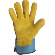 Gant type docker jaune.