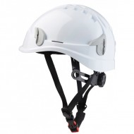 Casque non ventilé + attaches lampe frontale