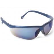 lunette solaire. Occulaire miroité bleu