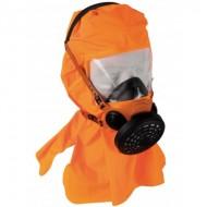 Masque d'évacuation DM761C avec cagoule de protection.